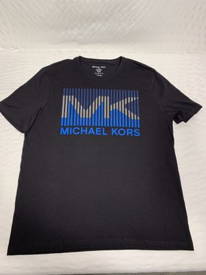 NEW MICHAEL KORS/Black Graphic T-Shirt for Sale in Batavia, IL