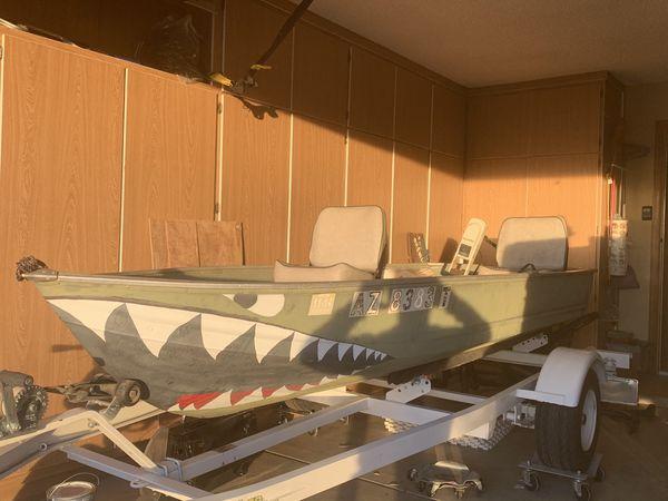 12ft Sea Nymph aluminum fishing boat