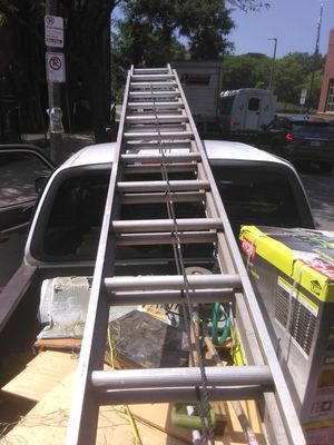 32' extension ladder for Sale in Revere, MA