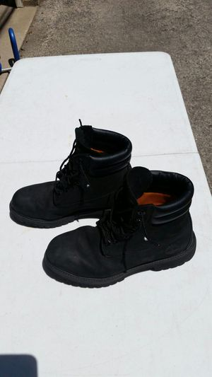 TIMBERLAND BLACK BOOTS. for Sale in Chicago, IL