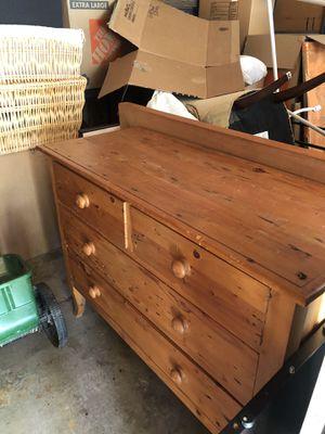 Antique English Pine Dresser for Sale in Sammamish, WA