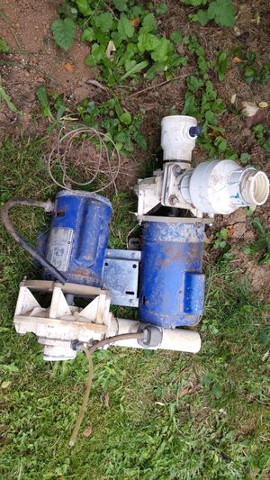 GE 3/4hp Hot Tub motor and pump for Sale in Happy Valley, OR