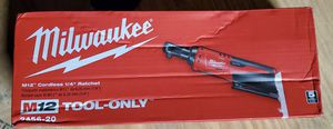 "Milwaukee m12 1/4"" Ratchet for Sale in Yucaipa, CA"