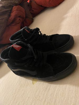 Black vans sz 9.5 for Sale in Cleveland, OH
