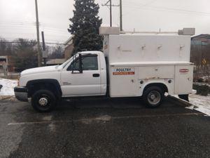 2006 Chevy 3500 service truck Duramax diesel for Sale in Rockville, MD