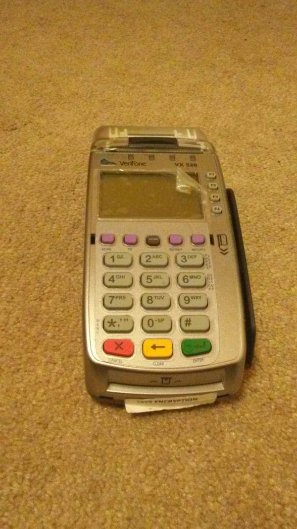 Verifone vx520 creadit card machine