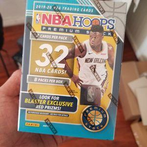 2020 NBA Hoops Premium Stock Basketball Trading Card Blaster Box for Sale in Cerritos, CA