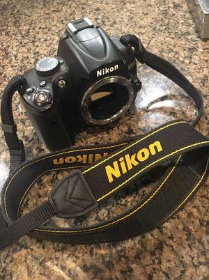 Nikon D D5000 12.3MP Digital SLR Camera - Black (body only) for Sale in Franklin, TN