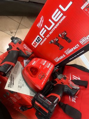 Milwaukee fuel m12 impact and drill new for Sale in Bell Gardens, CA