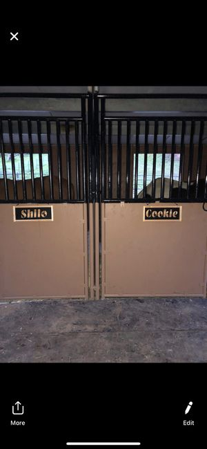 Personalized Horse Stall Name plaques for Sale in Enumclaw, WA