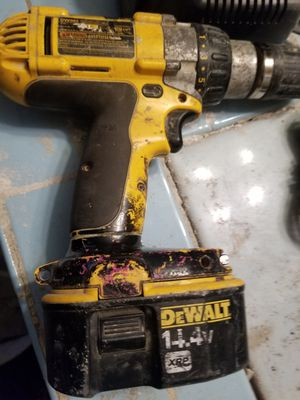 Dewalt drill battery and charger for Sale in Chicago, IL