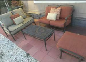 Cast Aluminum Patio Set for Sale in Colton, CA