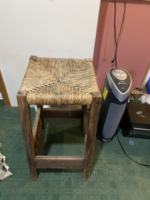 Wooden chair stool for Sale in Boulder, CO
