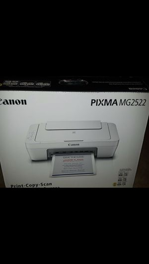 Canon pixma MG 2522 for Sale in Fosters, AL