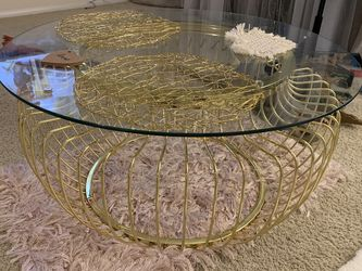 Modern Gold Coffee Table For Sale for Sale in Los Angeles,  CA