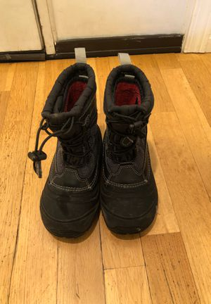 Kids snow boots. Size 13 north face size 7 plane car boat print for Sale in Blaine, WA