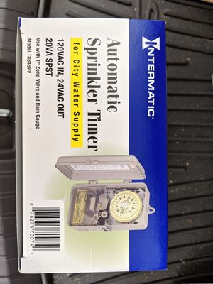 Automatic sprinkler timer, with 24 volt transformer for Sale in Town 'n' Country, FL