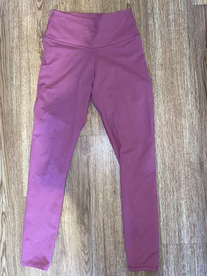 Hot pink fabletics leggings size S for Sale in San Diego, CA