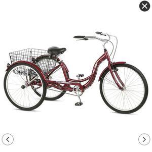 "Schwinn Adult Meridian 26"" 3-Wheel Bike - Burgundy for Sale in College Park, MD"