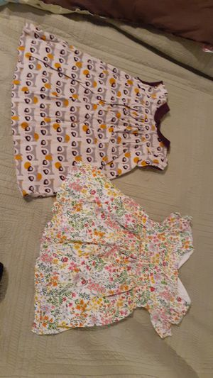 3 Baby Girl dresses $25 owl dress is 23 months, flower dress is 2t and purple dress is 18 /24 months for Sale in Washington, DC