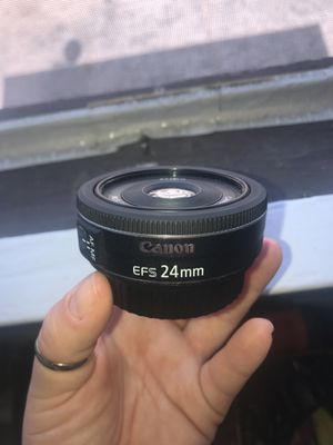Canon 2.8 24mm Lens for Sale in Los Angeles, CA