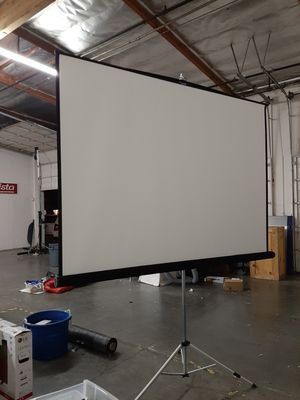 Projector screen 9'x9' for Sale in San Jose, CA