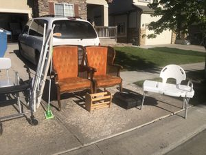 Shower chairs/walker/book shelves & miscellaneous items for Sale in Denver, CO
