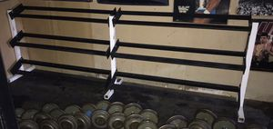 3 Tier Commercial Dumbbell Rack Holds 10lbs-100lbs for Sale in Oak Forest, IL