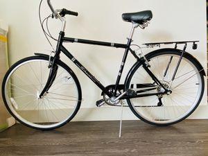 Schwinn black 7 Seven Speed City Road Cruiser Bike for Sale in Irvine, CA