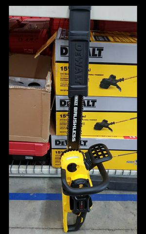 "DEWALT FLEX VOLT BRUSHLESS 16""IN CHAINSAW TOOL ONLY BRAND NEW for Sale in San Bernardino, CA"