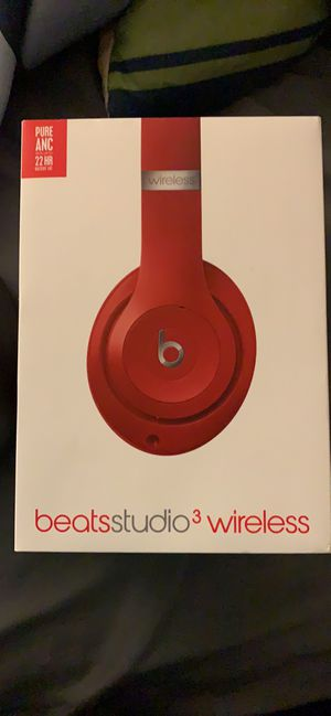 Beats studio 3 wireless product red for Sale in Wichita, KS