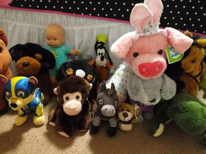 Bundle of Stuffed Animals Toys for Baby/Toddlers for Sale in Los Nietos, CA