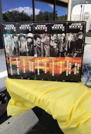 John Wayne VHS Movies for Sale in Port St. Lucie, FL