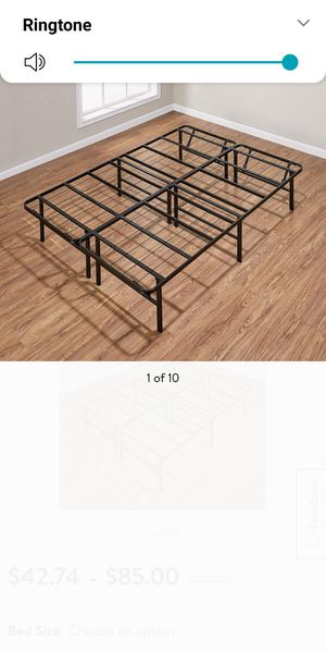 King size bed frame for Sale in Tulsa, OK