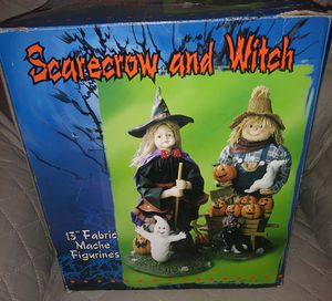 """Scarecrow & Witch In The Box 15"""" Tall for Sale in Cocoa, FL"""