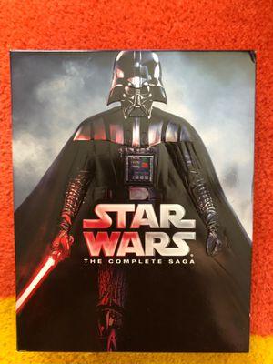Star Wars complete saga+3 bonus discs for Sale in Indian Trail, NC