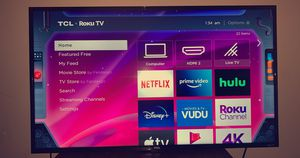 """TCL 43"""" Roku 4K UHD HDR Smart TV for Sale in Boston, MA"""