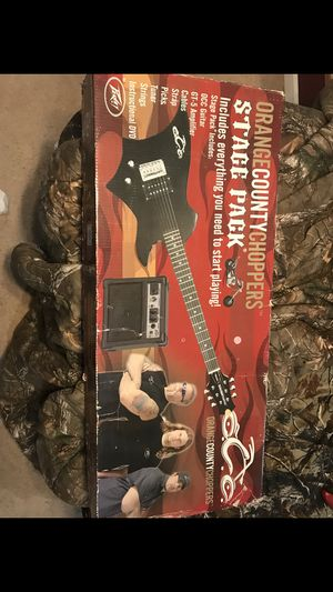 Orange County choppers stage pack guitar for Sale in Ashburn, VA