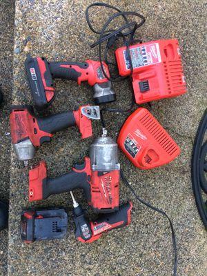 Milwaukee tool lot for Sale in Yelm, WA
