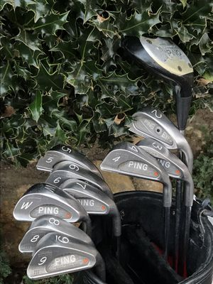 Ping Karsten 3 Orange Dot Irons with Matching Serial Numbers for Sale in San Diego, CA