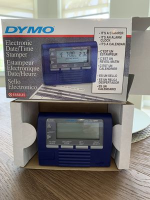 Dymo Electronic Date & Time Stamper / Sello Electronico for Sale in Fort Lauderdale, FL