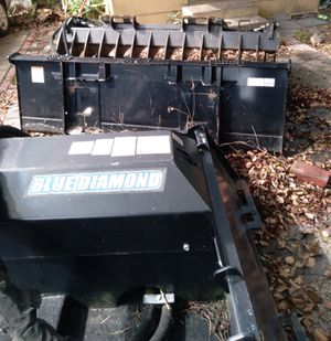 3 skid steer attachments for Sale in Tampa, FL