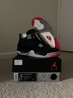 Air Jordan 4 Bred for Sale in Annandale, VA