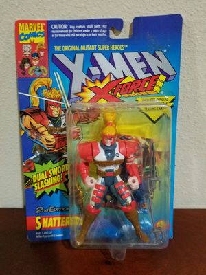 Shatterstar 2nd edition X-Men X-Force RARE VINTAGE COLLECTABLE ACTION FIGURE for Sale in Thonotosassa, FL