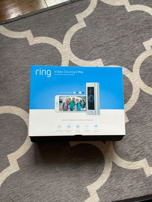 BRAND NEW- Ring Video Doorbell Pro for Sale in Fort Meade, MD