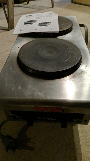 Star-Max Dual Hot Plate 502FD for Sale in Columbus, OH