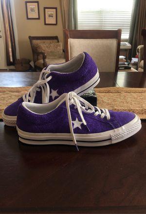 Converse One Star Ox Purple size 11 for Sale in Orlando, FL