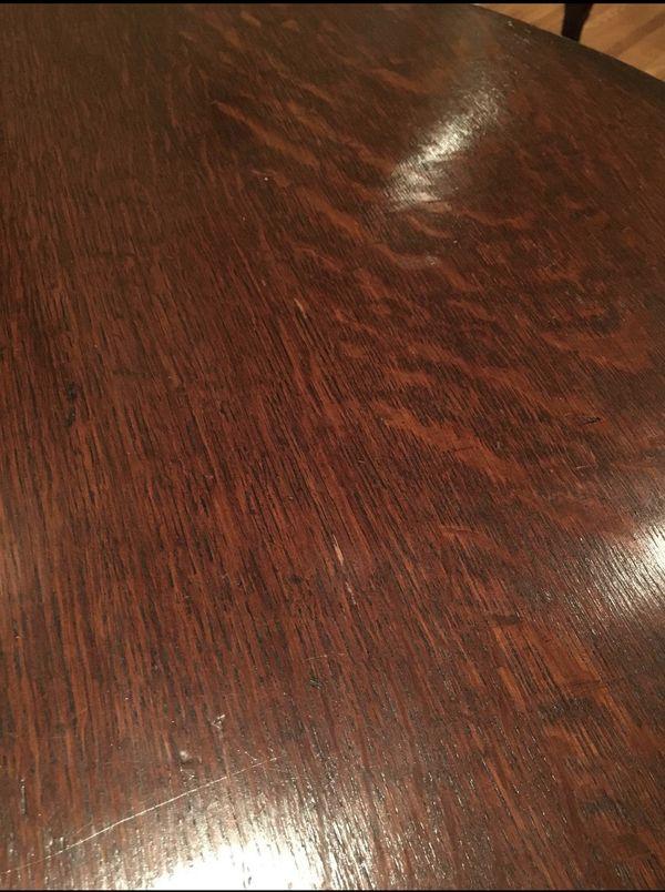 Antique English Oak barley twist gate leg dropleaf oval table