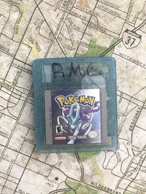 Pokémon Crystal - Nintendo Gameboy for Sale in San Antonio, TX