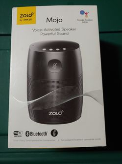 NEW In Box Anker Zolo Mojo Voice Activated Smart Speaker With Google Assistant for Sale in Tampa,  FL